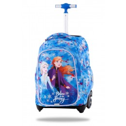 Mochila escolar con ruedas JUNIOR Disney - Frozen blue