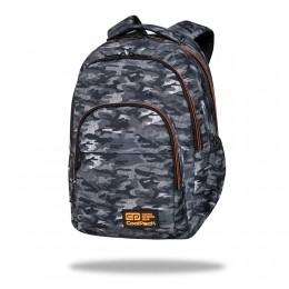 Mochila escolar BASIC PLUS Military grey