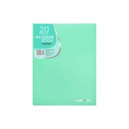 Portafolios A4 - Verde pastel