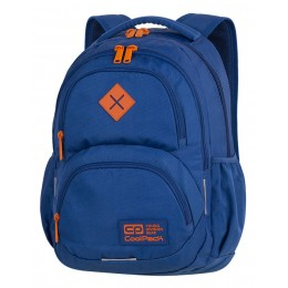 Mochila escolar DART  Teal/Orange