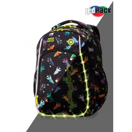 Mochila escolar STRIKE LED...
