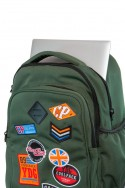 Mochila escolar con ruedas JUNIOR Camo Desert Badges