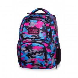 Mochila escolar AERO Camo Fusion Pink