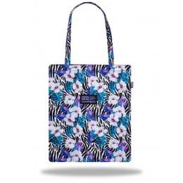 Bolsa SHOPPER Flower zebra