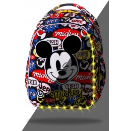 Mochila escolar Disney JOY LED - Mickey Mouse