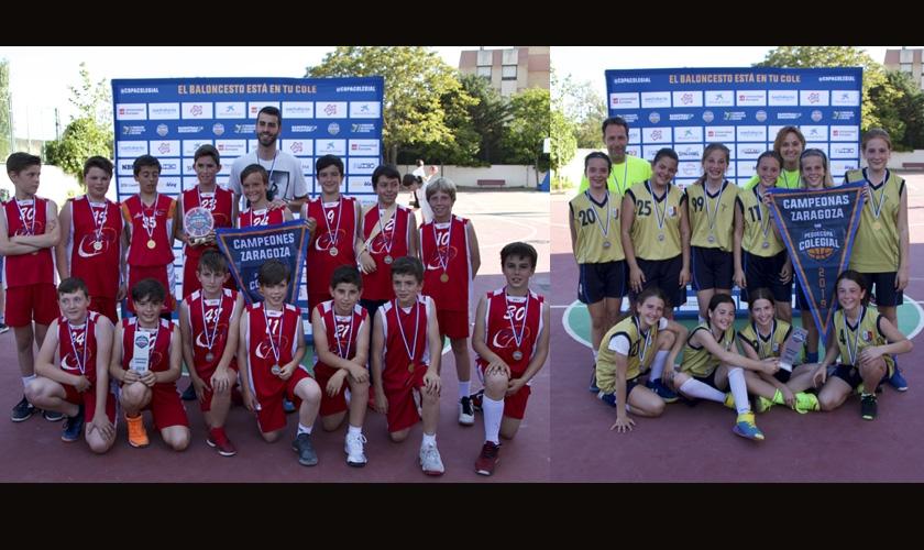 Equipos finalistas de la Peque Copa