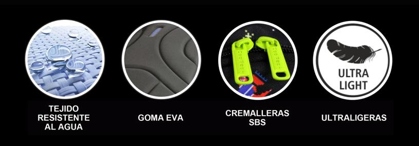 caracteristicas de las mochilas LED