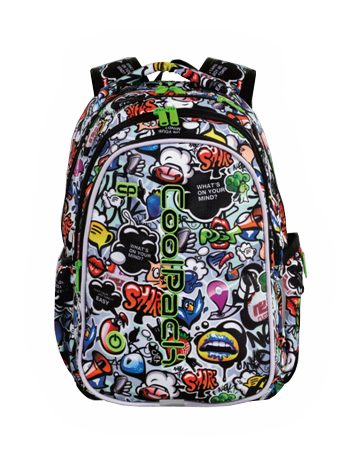 Mochila LED modelo Graffiti